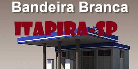 Posto de Gasolina bandeira branca à venda Itapira-SP