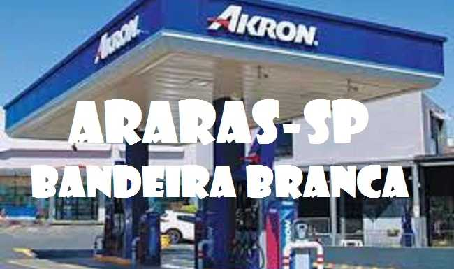 Posto de Gasolina bandeira branca à venda Araras-SP