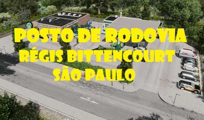 Posto de Rodovia com propriedade à venda Régis Bittencourt-SP