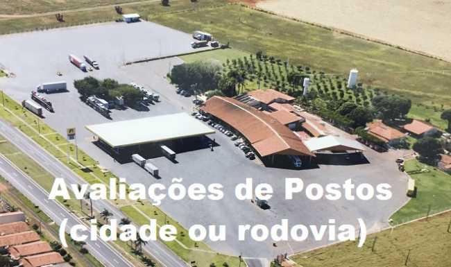 """Avaliações de Postos """"Cidades ou Rodovias"""""""